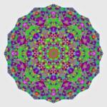 Abstract colorful circle backdrop. Geometric vector mandala. Mos — Stock Vector #54642593