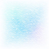 Seamless Abstract Vector Light Blue White Color Hand-drawn Patte — Stock Vector
