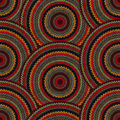 Seamless Multicolor Ethnic Geometric Knitted Pattern. Style Circ — Stock Photo