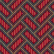 Seamless Knitted Pattern. Yellow Orange Red Blue Brown Color Bac — Stock Photo #62390503