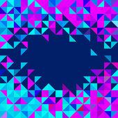 Streszczenie tło geometryczne — Wektor stockowy