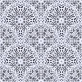 Abstract Seamless Black and White Color Geometric Vector Pattern — Stock vektor