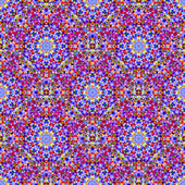 Ornamental Seamless Pattern. Abstract Geometrical Vector Backgro — Wektor stockowy