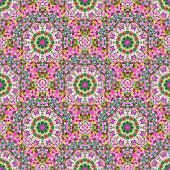 Ornamentales de patrones sin fisuras. Abstract Vector geométrico centrico — Vector de stock