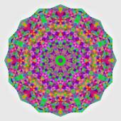 Abstracte cirkel van kleurrijke achtergrond. geometrische vector mandala. mnd — Stockvector