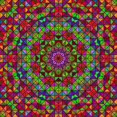 Vecteur abstrait géométrique couleur fond — Vecteur