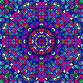Абстрактный красочный цифровой декоративный цветок — Cтоковый вектор