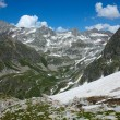 Landscape with high mountains — Stock Photo #69736313