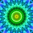 Colorful looping kaleidoscope sequence. Abstract motion graphics background — Stock Video #54593707