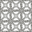 Seamless pattern of silver wire mesh or fence on white — Stock Photo #60576541