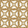 Seamless pattern of gold wire mesh or fence on white — 图库照片 #65333099