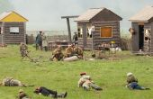 Civilian lying dead — Foto de Stock