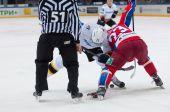 Stolyarov G. (71) vs Stas A. (23) — Stock Photo