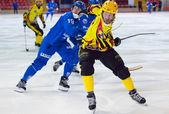 Johan Estblom (4) in action — Stock Photo