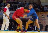 Emil Khasanov (R) vs Evgeniy Sukhomlinov (B) — Stock Photo