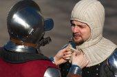 Wear the armor — Foto de Stock