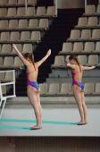 Natalia Aminieva and Galina Sitnikova — Stock Photo