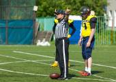 Referee gesture — Stock Photo