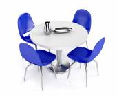 Dining set — Stock Photo