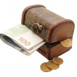 Box and money — Stock Photo #61330763
