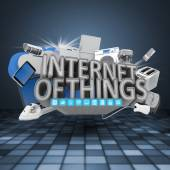 Internet das coisas conceito — Fotografia Stock