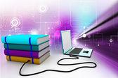 Biblioteca di Internet — Foto Stock