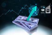 3D multi-use dollar — Stock Photo