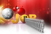 World of job — Stock Photo