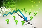 Recession Concept — Stock Photo