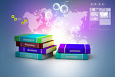 Business book. 3d rendered image — Stock Photo