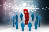 Risk concept — Stockfoto