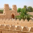 Jahili fort in Al Ain oasis — Stock Photo #57886027