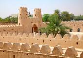 Jahili fort in Al Ain oasis — Stock Photo