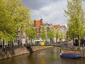 Houses of the Amsterdam — Foto de Stock