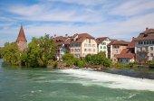 Bremgarten eski şehir — Stok fotoğraf