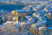 Bern city with snow — Стоковое фото