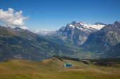 Famous village Grindelwald — Stock Photo