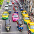 Traffic Jam in Bangkok — Stock Photo #70386365
