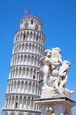 Scheve toren van pisa — Stockfoto