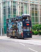 Hong Kong Tram — Stock Photo