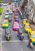 Traffic Jam in Bangkok — Stock Photo