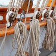 Old ship's masts — Stock Photo #71698281