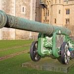 Gun in museum of Tower — Stock Photo #71698295