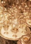 Golden market in Dubai — Stock Photo