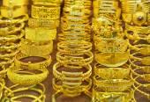 Luxury Bracelets and other jewelry — Stock Photo