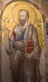 Innenraum der Kirche des Heiligen Erlösers in Chora — Stockfoto