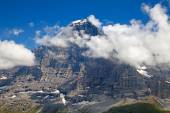 Eiger mountain in the Jungfrau region — Stock Photo