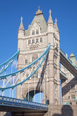 Famous tower bridge in London — Stock Photo