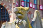 Ancient De Haar castle near Utrecht — Stock Photo