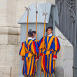 Постер, плакат: Swiss guards in Vatican